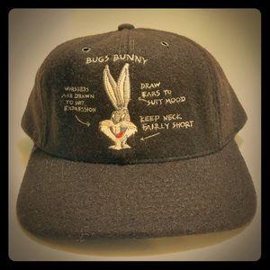 Vintage 1994 Bugs Bunny Wool Blend Baseball Cap
